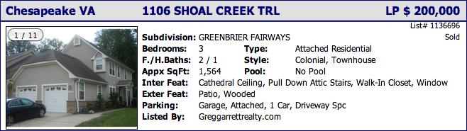 1106 Shoal Creek Trl, Chesapeake