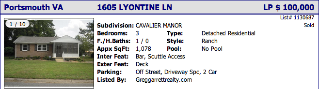 1605 Lyontine Ln, Portsmouth