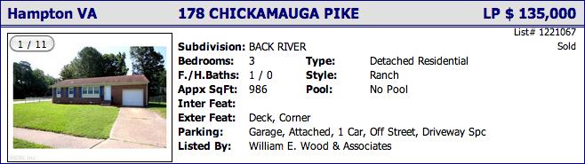 178 Chickamauga Pike, Hampton