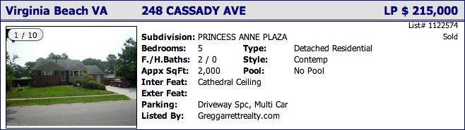 248 Cassady Ave, Virginia Beach