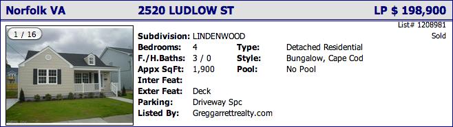 2520 Ludlow St, Norfolk