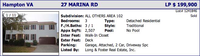 27 Marina Rd, Hampton