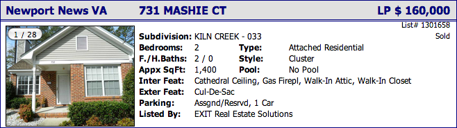 731 Mashie Ct, Newport News